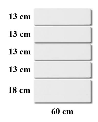 Koksluckor 40×70